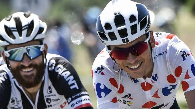 Tour de France 2017, Warren Barguil e Simon Geschke (Afp)