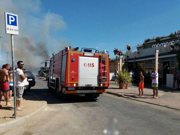 Incendio, a fuoco un ristorante a Torre del Lago