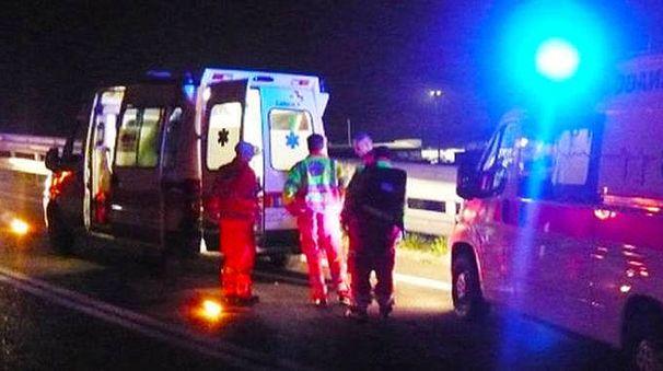 Sono intervenute due ambulanze e l'automedica