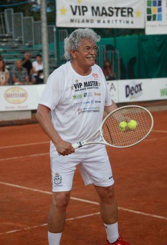 Il senatore Razzi in campo (foto Corelli)