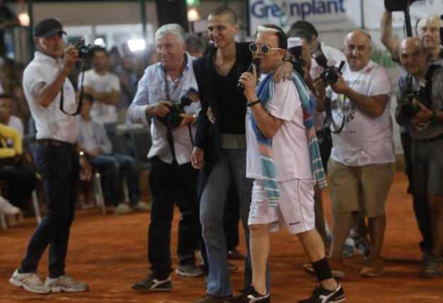 Rosalinda Celentano e Cristiano Malgioglio (foto Corelli)