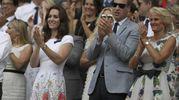 Kate e William a Wimbledon 2017 (Ansa)