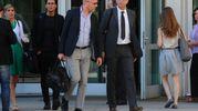 Paolo Camporini e Claudio Salvagni, avvocati di Massimo Bossetti (LaPresse)