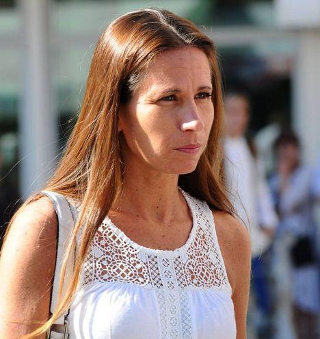 Marita Comi, moglie di Massimo Bossetti (LaPresse)