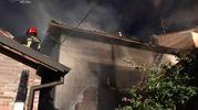 L'incendio si è sviluppato a Monteveglio intorno alle 21