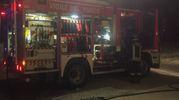 I vigili del fuoco al lavoro a Monteveglio