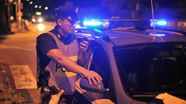 La polizia ha arrestato il giovane