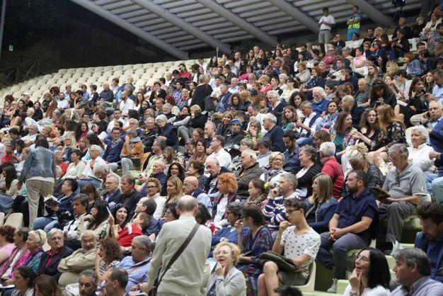 Il riadattamento dell'opera di Tito Maccio Plauto ha divertito il numeroso pubblico (Foto Ravaglia)