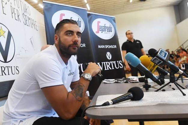 Aradori è stato convocato per il raduno-training della nazionale a Folgaria (foto Schicchi)