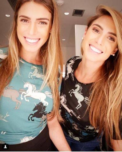 Le gemelle brasiliane Bia e Branca Feres (Instagram)