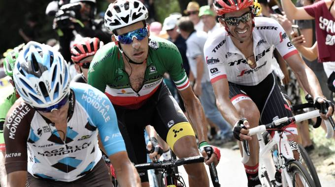 Tour de France 2017, Fabio Aru in azione