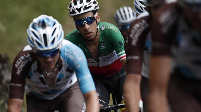 Fabio Aru al Tour de France 2017 (Ansa)
