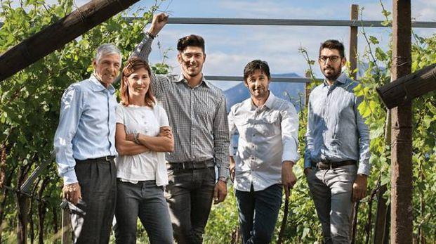 La famiglia Moser, che gestisce l'omonima azienda vinicola – Foto: mosertrento.com