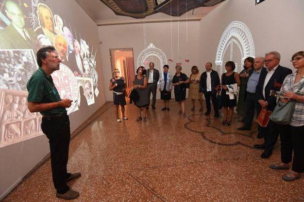 La serata organizzata da Legacoop a Palazzo Belloni (Foto Schichi)