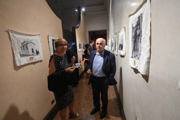 Rita Ghedini e Daniele passini, presidente ConfCooperative Bologna (Foto Schicchi)