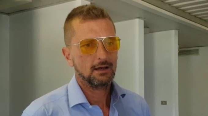Paolo Toccafondi dopo l'interrogatorio di garanzia