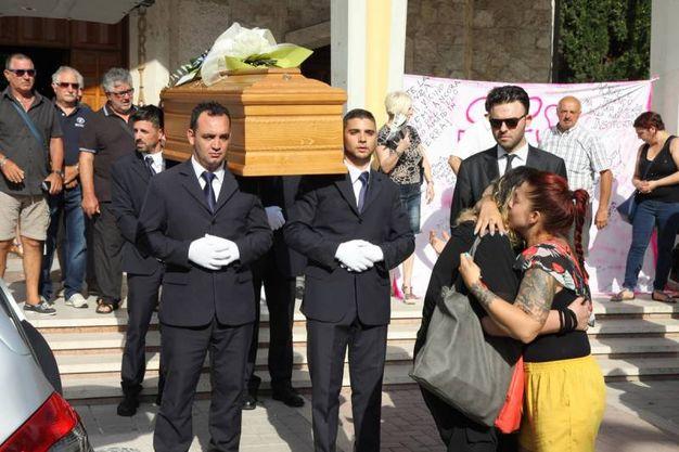 L'ultimo saluto a Francesca Galazzo (foto Sgattoni)