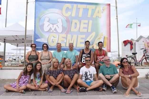 Porto Recanati, il raduno nazionale dei gemelli (Foto De Marco)
