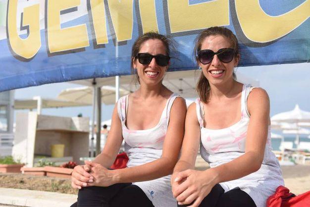 Porto Recanati, il raduno nazionale dei gemelli: Elena ed Elisa Bertocco (Foto De Marco)