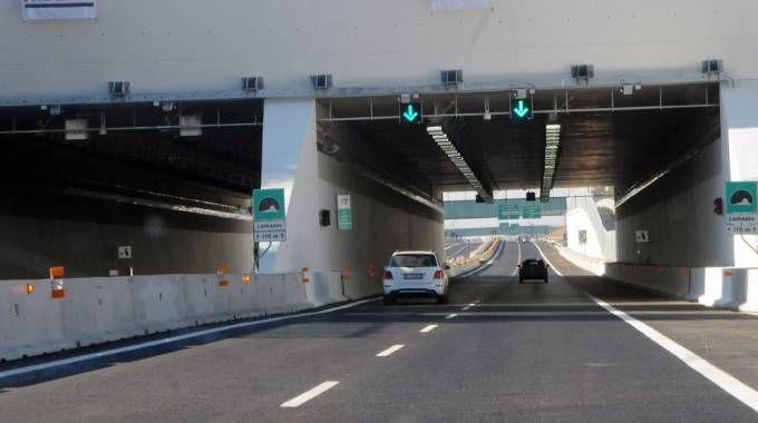 Il tratto aperto dell'autostrada