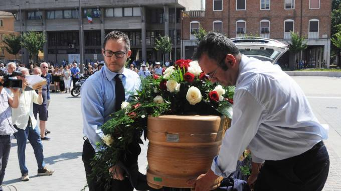 Il funerale di Marcello Cenci (foto Businesspress)