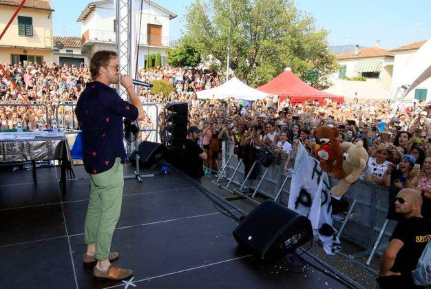 Tom Felton alla Festa dell'Unicorno di Vinci (foto Gianni Nucci/Germogli)