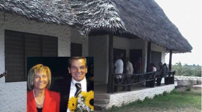 La coppia aggredita nella casa di Mombasa