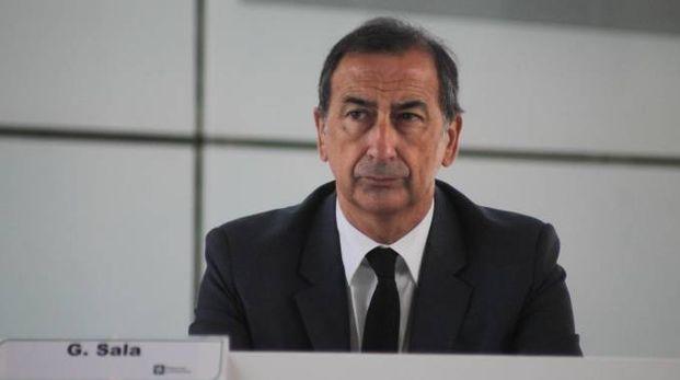 Giuseppe Sala alla presentazione della candidatura di Milano a sede Ema