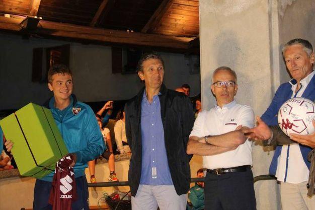 Festa in piazza a Bormio per il Torino (National Press)