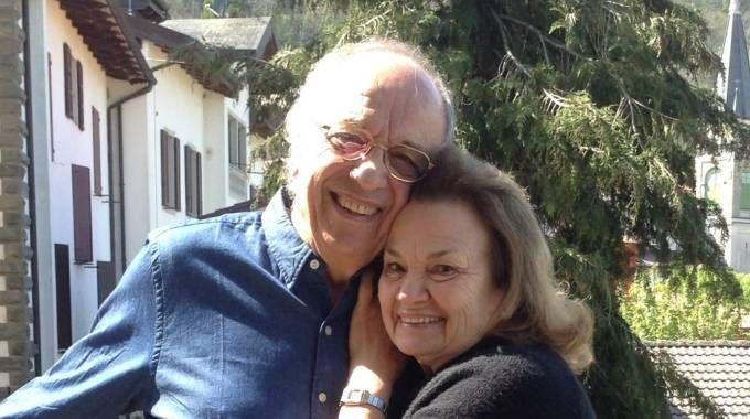 Leo Nucci con la moglie