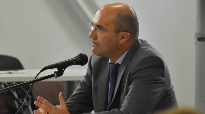 Il sindaco Luca Vecchi sentito nell'aula bunker di Aemilia