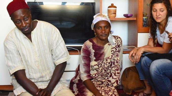 I genitori di Mamadou Lamine Thiam