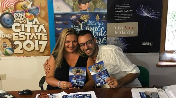 Gli assessori Milena Sebastiani e Francesco Trasatti hanno presentato la manifestazione con Marco Renzi