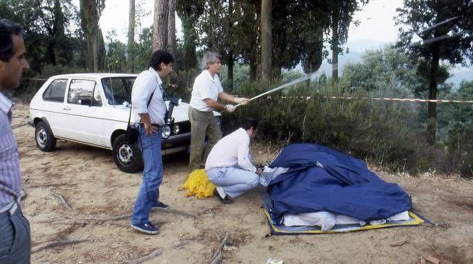 Il delitto degli Scopeti (foto archivio Pressphoto)