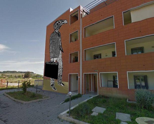 La street art di Jacopo Pischedda