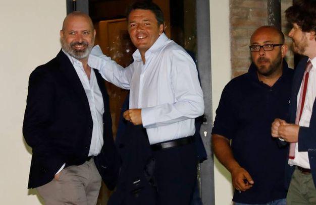 Stefano Bonaccini e Matteo Renzi (foto Fiocchi)