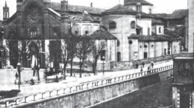 Foto d'epoca di Navigli a Milano