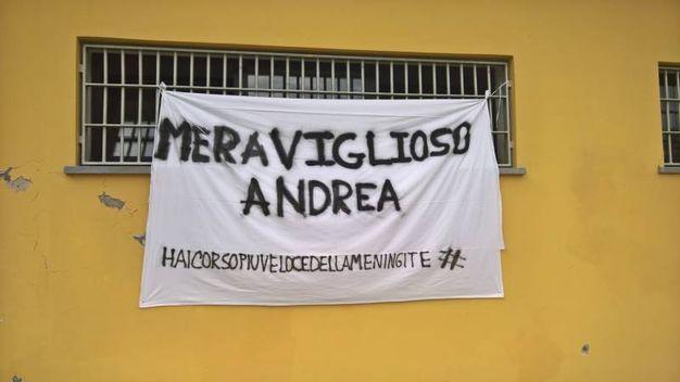 Andrea Lanfri festeggiato a Lucca