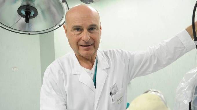 L'ex primario del Cto-Pini, Norberto Confalonieri, 64 anni
