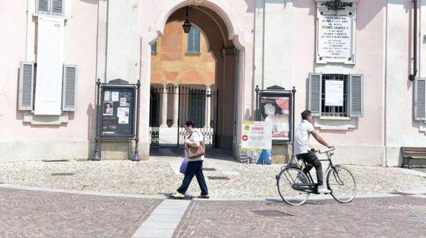 La facciata di Villa Visconti Borromeo Litta