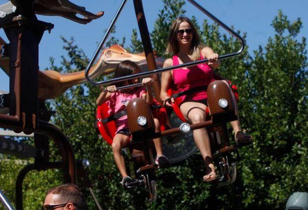 Il parco celebra i 25 anni con una speciale festa (foto Corelli)