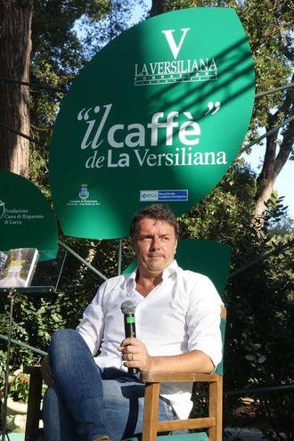 Renzi alla Versiliana (Foto Umicini)