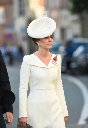 Kate Middleton in Belgio (Afp)