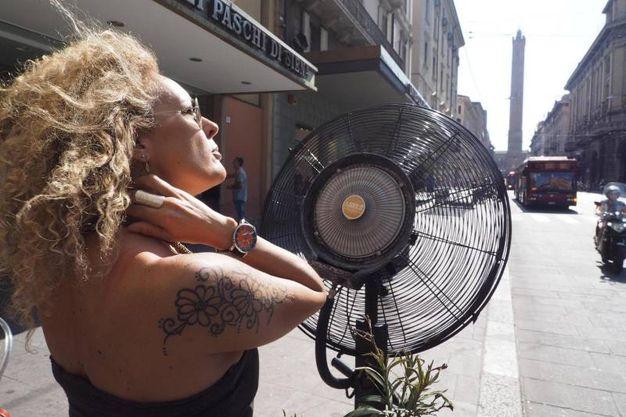 Scatta l'allerta caldo a Bologna (foto Ansa)