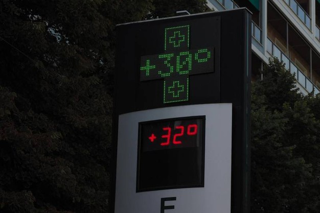 Temperature estreme (foto Ansa)