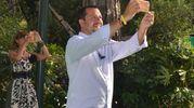 Matteo Salvini al Caffè della  Versiliana (foto Umicini)
