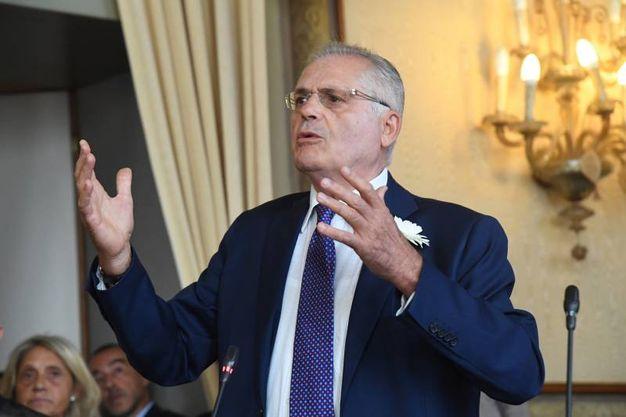 Il deputato Pd Paolo Bolognesi, presidente dell'Associazione dei familiari delle vittime della Strage di  Bologna (foto Schicchi)