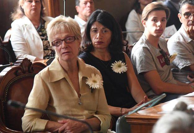 La commemorazione in Consiglio (foto Schicchi)
