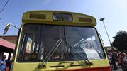 Il bus 37 torna in stazione (foto Schicchi)