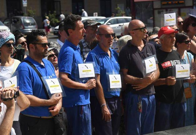 Nonostante il caldo in tantissimi hanno partecipato all'evento dei Cantieri di narrazione (Foto Schicchi)